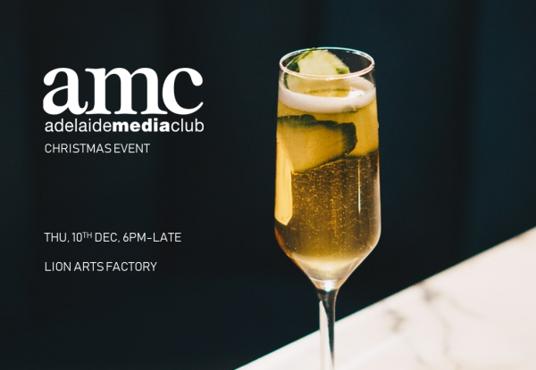 AMC christmas networking event. Thusday December . Drinks and catch ups at the Lions Arts